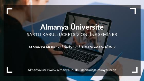 Şartlı Kabul Online Seminer
